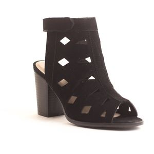 Women's Fashion Chunky Heel Ankle Boots